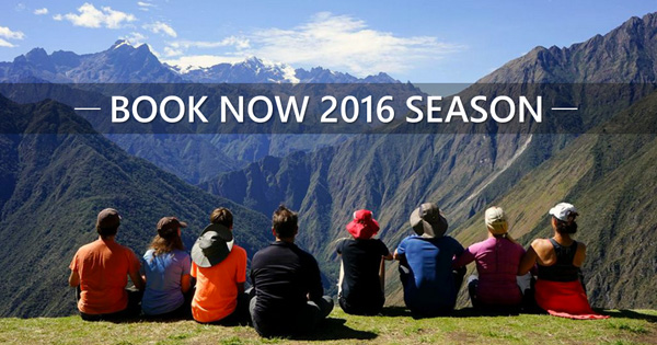 Book Now 2016 with Apu Andino Travel